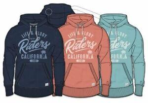 Mens-Life-amp-Glory-Hoodie-Sweatshirt-California-Graphic-Serronood-Hooded-Pullover
