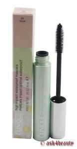 5ac261af487 Image is loading Clinique-High-Impact-Waterproof-Mascara-01-Black-28oz-