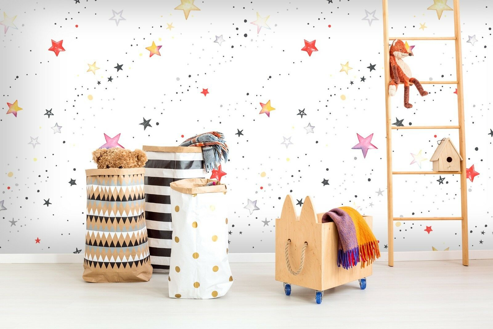 3D rot Star 7845 Wall Paper Exclusive MXY Wallpaper Mural Decal Indoor Wall AJ