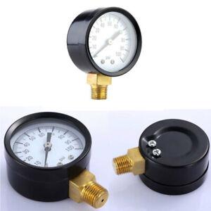 0-60-PSI-1-8-034-NPT-0-100-PSI-1-4-034-Air-Compressor-Hydraulic-Pressure-Gauge