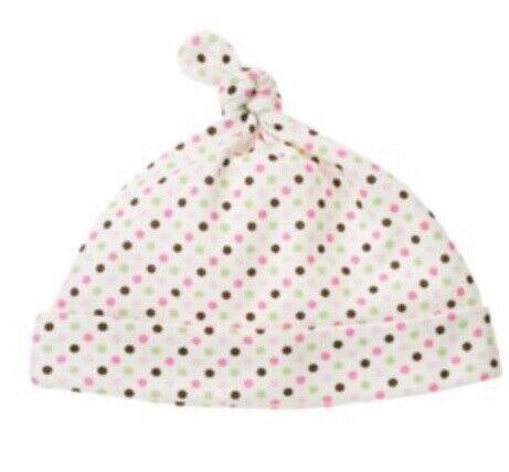 Gymboree Brand New Baby Line Hats 0-3-6-12-18 Beanie Newborn Hat Boy Girl Pink