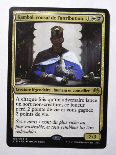 Consul de L/'attribution    MTG Magic Francais Kambal