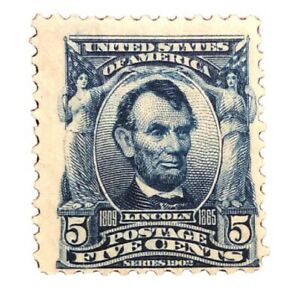 1902-US-Stamps-Collection-Scott-304-Unused-H-OG-CV-60