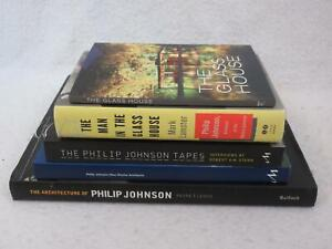 Lot of 5 on ARCHITECTURE OF PHILIP JOHNSON MAN IN THE GLASS HOUSE TAPES RITCHIE