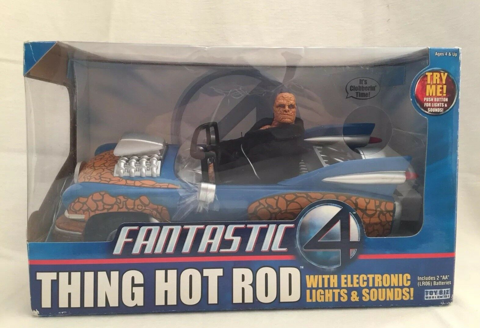 Fantastic 4 Thing caliente Rod with Electronic luci & suonos  MARVEL  scelta migliore