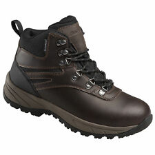 2a3c79b6591 Mens Eddie Bauer Everett Chestnut Brown Leather Waterproof Winter Hiking  BOOTS 8