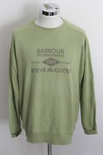 BARBOUR INTERNATIONAL STEVE MCQUEEN L vintage felpa sweater sweatshirt man A1090
