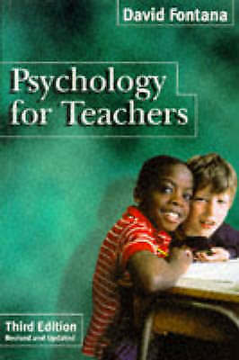 1 of 1 - Psychology for Teachers (Psychology for Professional Groups), Fontana, David, Ve