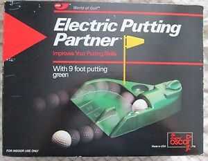 Image Is Loading Jef World Of Golf Electric Putting Partner