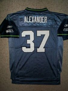 Details about THROWBACK Seattle Seahawks SHAUN ALEXANDER nfl Jersey YOUTH KIDS BOYS (L-LARGE)