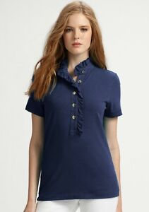393dab5d651 Image is loading TORY-BURCH-LIDIA-POLO-SHIRT-TOP-SIZE-XS