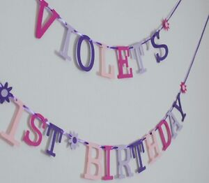 purple birthday banner