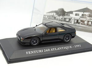Ixo-Presse-1-43-Venturi-260-Atlantique-1991-Noire