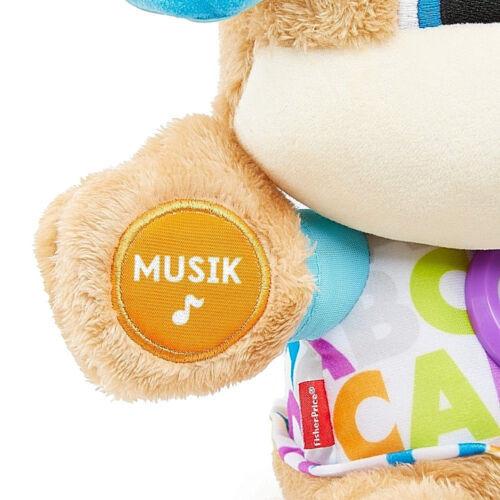 Ab 6 Monate Entdecker Baby knuddel Schmuse Hund Lichter Musik blinkendes Herz .