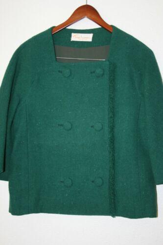RARE Vintage Tina Leser Original Jacket W/ Double