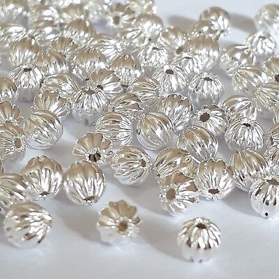 25pcs 12mm glass bicone beads with gold band jewellery making craft UK