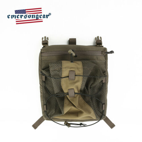 emersongear Tactical Backpack 420 Tactical Vest Bungee Helmet Pouch LXB Style