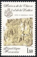 France 1981 Hunting Museum/Horse/Deer/Animals/Nature/Art/Sculpture 1v (n43361)
