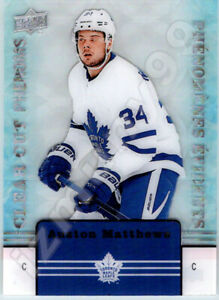 2019-20-UD-TIM-HORTONS-CLEAR-CUT-PHENOMS-AUSTON-MATTHEWS-INSERT-CARD-In-Stock