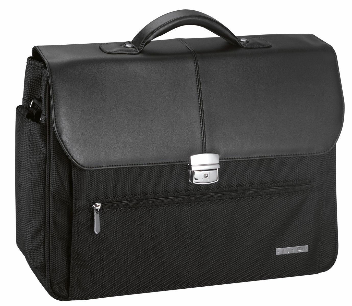 Aktentasche-Arbeitstasche-Umhängetasche-Tasche Schwarz 45 x35x13cm–Bowatex   Nutzen Sie Materialien voll aus    Neuankömmling    Luxus