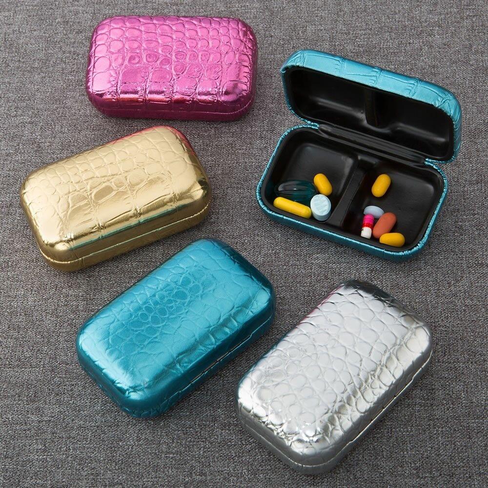 72 Metallic Croc Design Pill Box Wedding Shower Party Favors