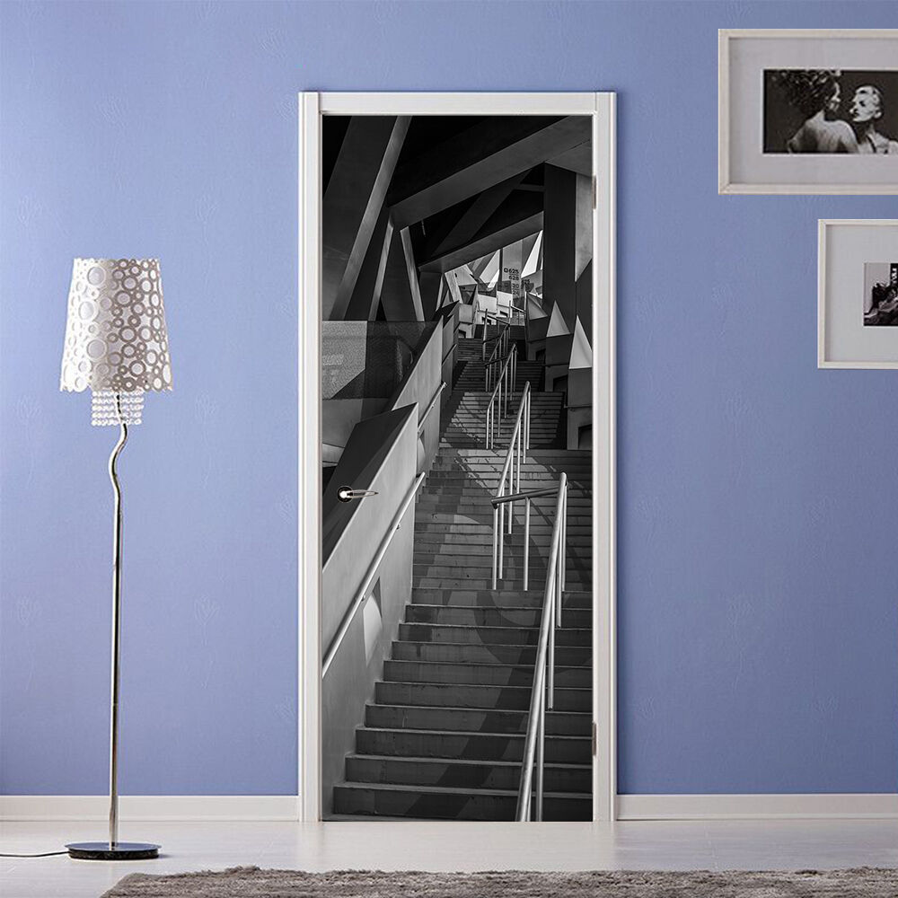 3D Die Treppe 733 Tür Wandmalerei Wandaufkleber Aufkleber AJ WALLPAPER DE Kyra | Elegante und robuste Verpackung  | Am wirtschaftlichsten  | Deutschland Shop