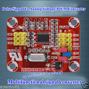 Multifunction Servo Pulse Signal/Analog Voltage/PWM Signal Conversion Converter