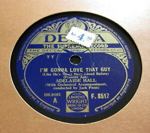 Adelaide-Hall-I-039-m-Gonna-Love-That-Guy-There-Goes-That-Song-Again-DECCA