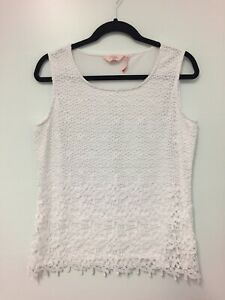 Millers-White-lace-top-size-12-Womens