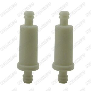 image is loading 2x-small-inline-fuel-filter-for-polaris-2530009-