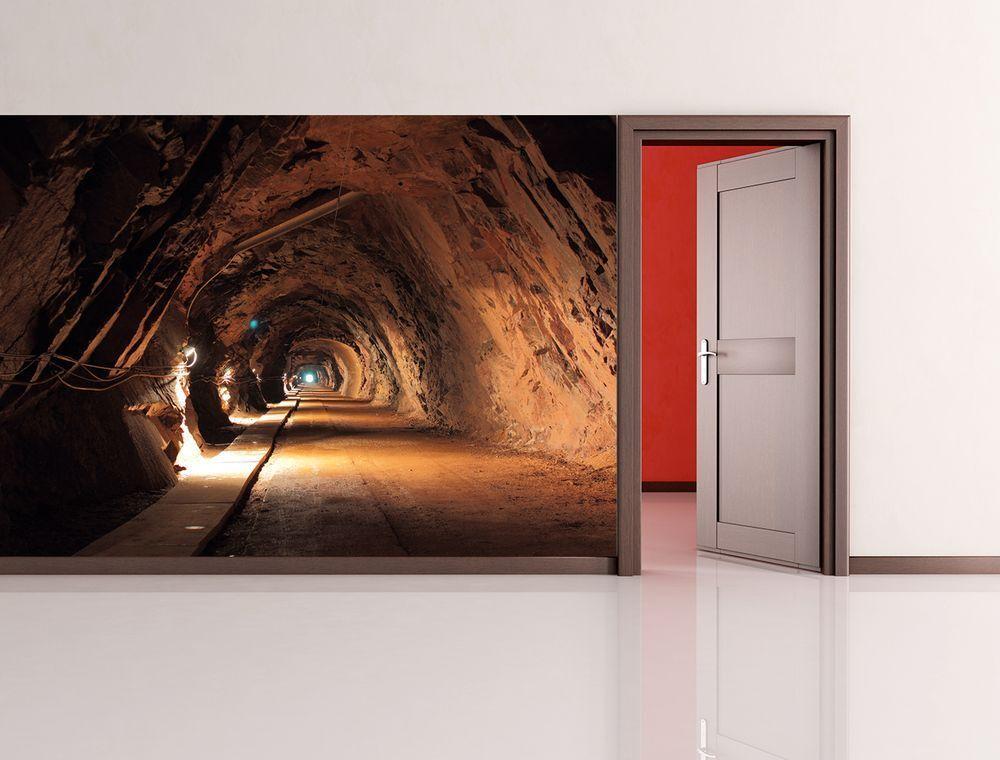 Fototapete - alte Mine in Polen