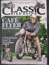 Classic Bike Guide January 2016 Bonneville Street Twin Matchless G3 BMW K1200