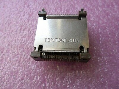 1x TEXTOOL 3M / 268-5401-J Chip Carrier + Cover ZIF TEST SOCKET CLCC 68 PIN GOLD