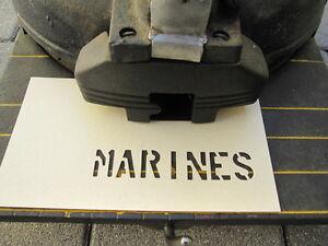 Stencil-Spray-Template-Marines-3-4-034-Classic-Car-US-Army-Usmc-Vietnam-Navy-WW2
