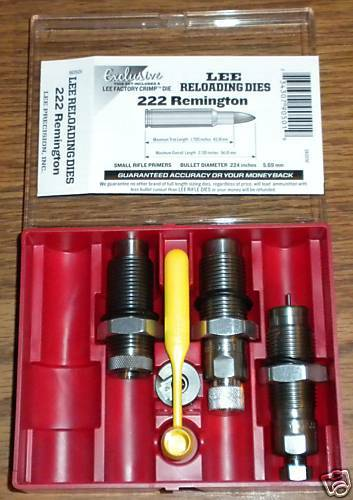 Lee Precision * Pacesetter 3 Die Set for 222 Rem   # 90501   New!