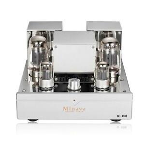 High End KT88 Röhrenverstärker HiFi Tube Amplifier Single-ended Power Amp Silber