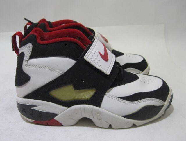 dd259b1667 Buy Nike Air Diamond Turf 2 09 GS 309635 101 Leather Athletic Size 4 ...
