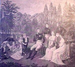Holzstich-Friedrich-Wilhelm-III-Charlottenburg-um-1870