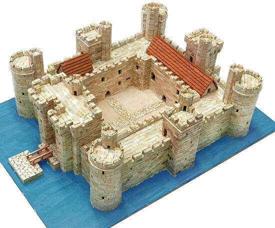 Bodiam Castle XIV Century, East Sussex England 5850 pcs Scala 1 180 Model