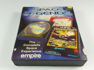 Space-Legends-Wing-Commander-Elite-Plus-Mega-Traveller-Amiga-Spiel-Big-Box-VGC