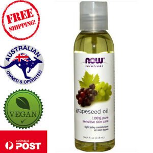 Now-Foods-Solutions-100-Grapeseed-Oil-118-473ml-Vegan-Massage-Moisturiser