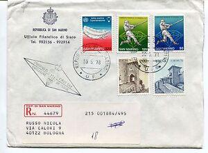 Prix Bas Avec 1978 Fdc San Marino Europa Baseball Ipertensione Raccomandata First Day Cover ArôMe Parfumé