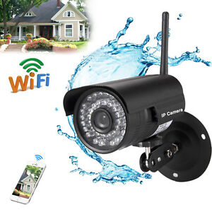 720P 1.0MP HD Outdoor Home Wifi Security IP Webcam P2P CCTV Camera Night Vision