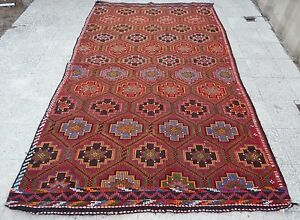 image is loading oushak kilim rug flat weaving office kelim tapis - Tapis Turc