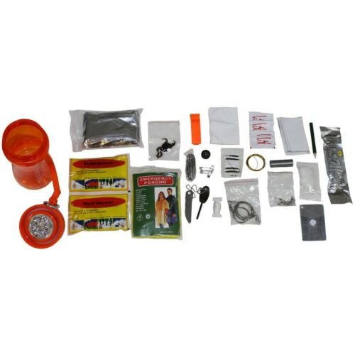 "/""Extreme/"" Überlebensset 34 pieces Notfallset Survivalkit Waterproof Box"