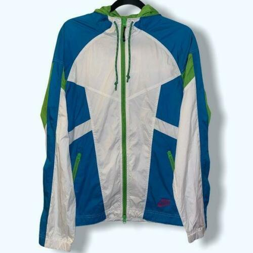 Nike sportswear retro hooded windrunner medium