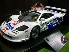 McLAREN F1 GTR #9 FINA blanc GT 1997 au 1/18 UT MODELS 39711 voiture miniature