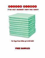 Pishie Primos Thickest Absorbent Puppy Pads Made-dogs Up To 120lbs Free Samples