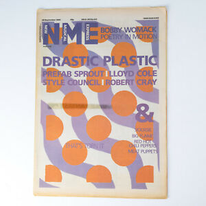 NME magazine 28 September 1985 Prefab Sprout Lloyd Cole Style Council