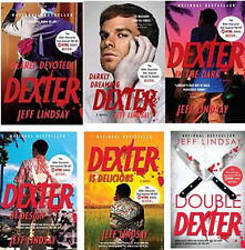 Dexter Series Paperback Collection Set 1-6 by Jeff Lindsay!  NEW!